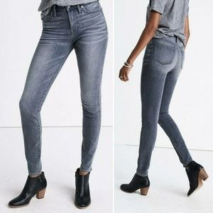 "Madewell 9"" High Riser Skinny Jeans in Shaw - 27"